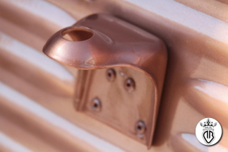 metal coating rame su camion