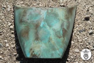 codino vetroresina rivestito con rame ossidato