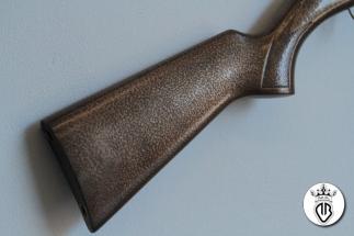 calcio fucile rivestito in bronzo materico con fixed