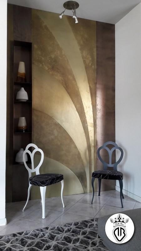 metal coating : interior design