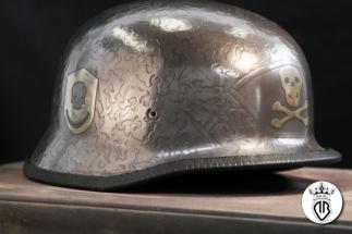 metal coating particolare sx casco