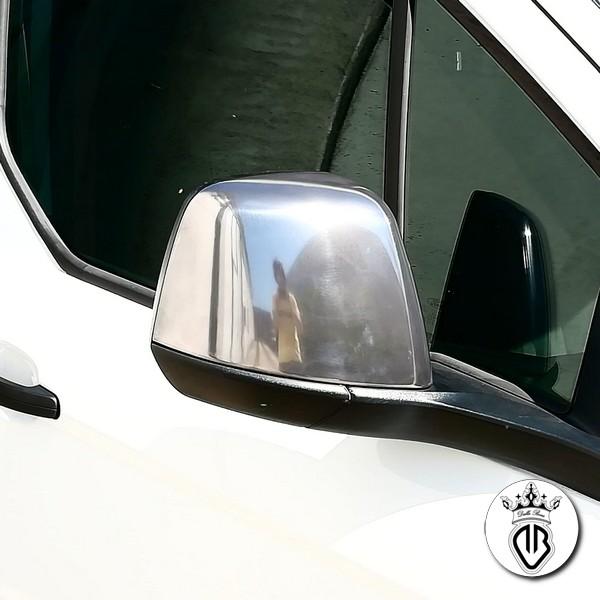specchietto in abs rivestito in acciaio lucidato