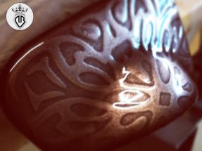 METAL-COATING-DALLA-BONA (191)_automotive-posacenere in bronzo con texture a rilievo