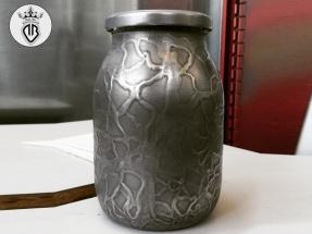 METAL-COATING-DALLA-BONA (200)_Interior design-barattolo in vetro riv. alluminio a colata