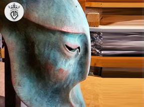 METAL-COATING-DALLA-BONA (224)_metal_coating_microfusione di rame su scultura in legno by abele flocchini
