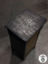 METAL-COATING-DALLA-BONA-particolare superficie in acciaio materico (264)
