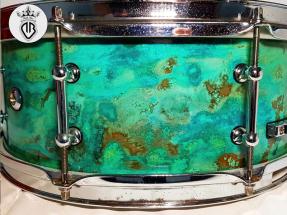 METAL-COATING-DALLA-BONA-Rullante rivestito in rame con patina ossidante verde e blu (271)