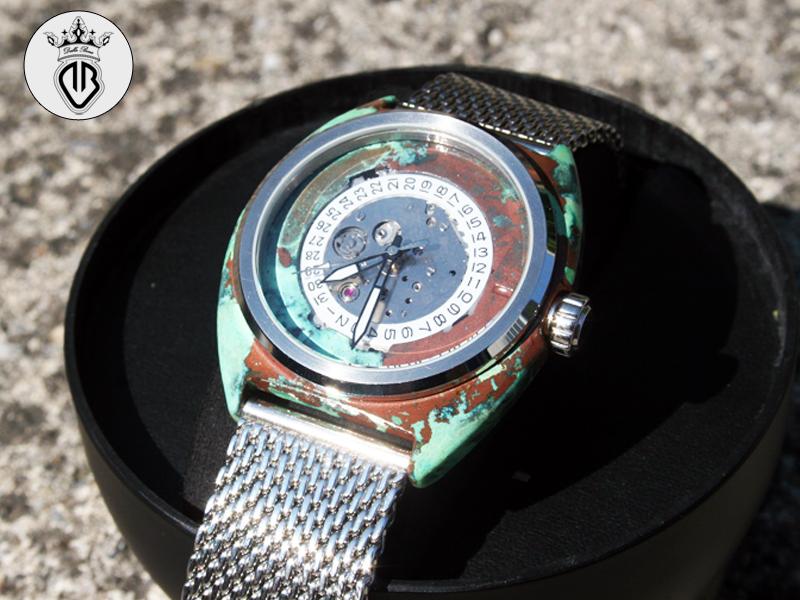 Orologio custom by VICTOR metal-coating