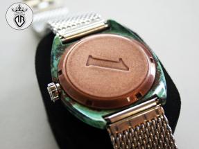 METAL-COATING-DALLA-BONA-Orologio personalizzato con cassa in rame e numero (279)